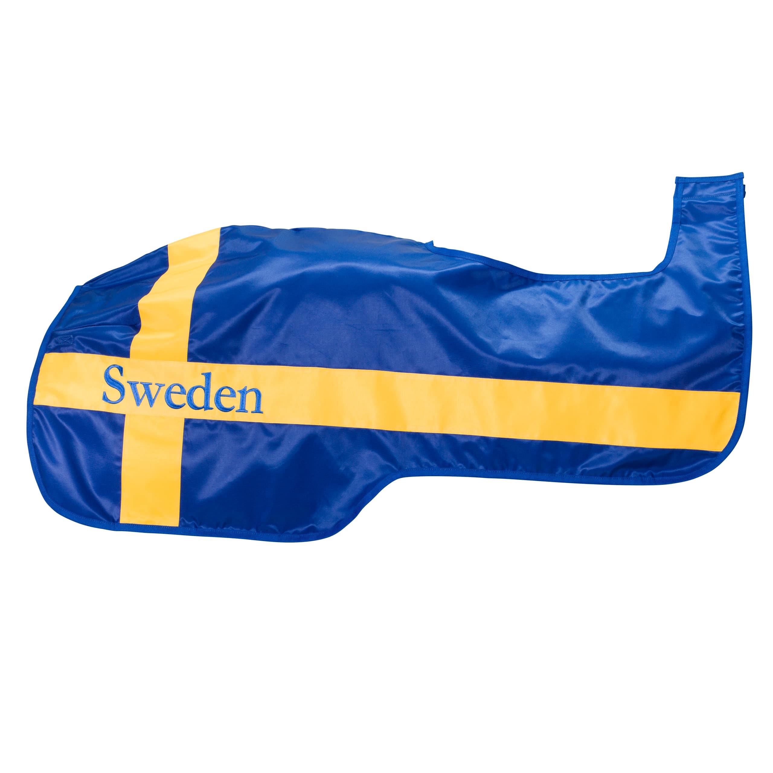 Ridtäcke-Sweden-Flagga-hö