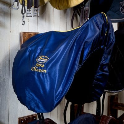 Exclusive Horsewear på Björnöslott med sadelöverdrag JADE