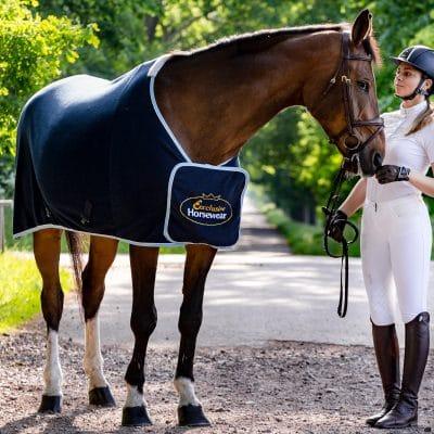 Exclusive Horsewear på Björnslott med tävlingstäcke FALSTERBO