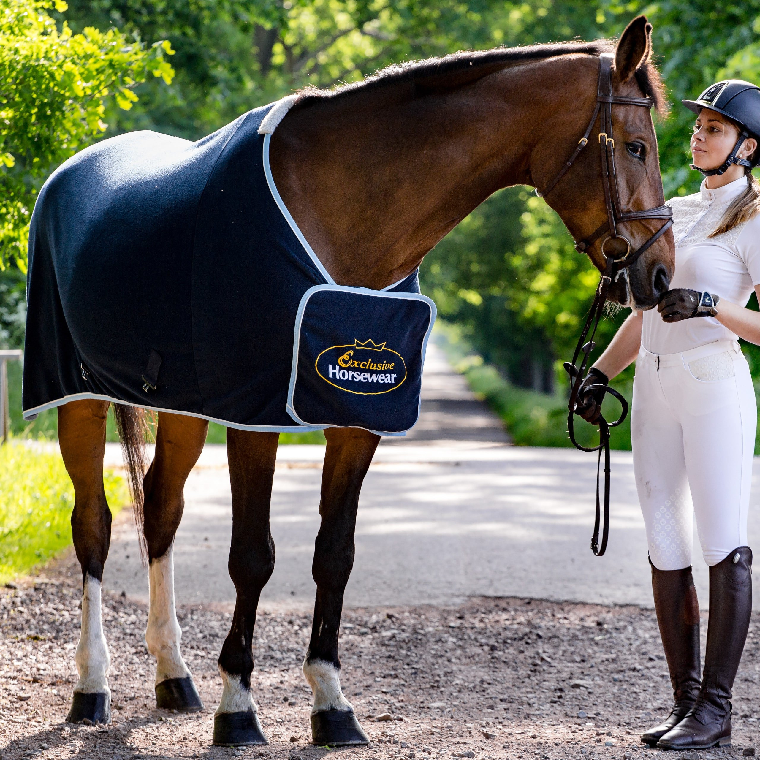 Exclusive Horsewear at Björn Castle with Show Rug FALSTERBO