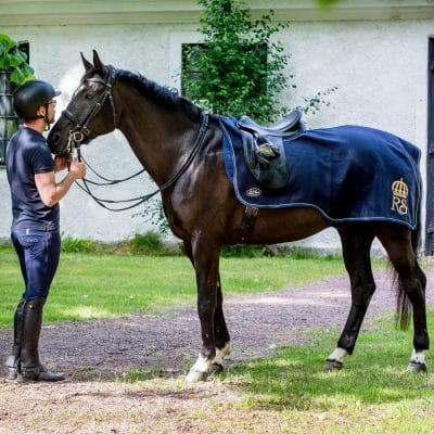 Exculsive Horseware på Björnöslott med ridtäcke Montenmedio
