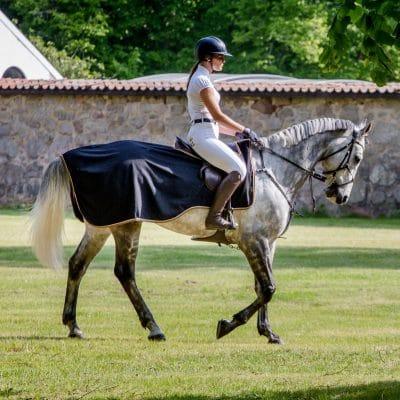 Exculsive Horseware på Björnöslott med ridtäcke Montenmedio 3