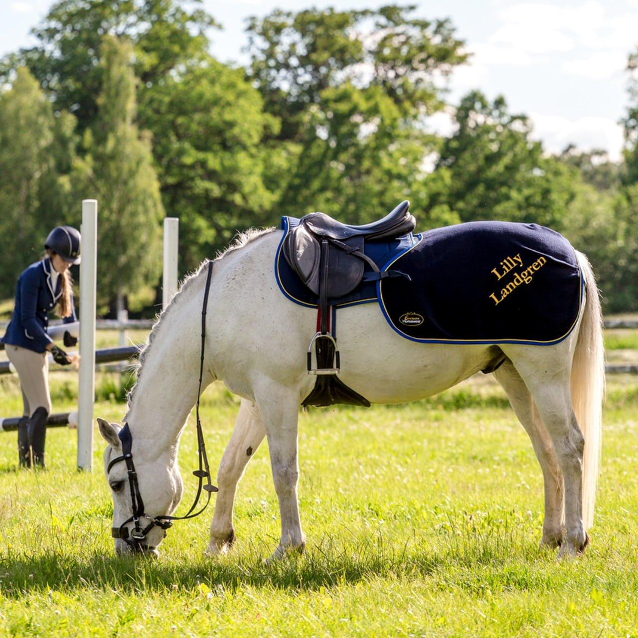 Exclusive Horseware på Björnöslott med ländtäcke Windsor