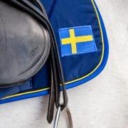 Exclusive Horseware på Björnöalott med schabrak Sweden