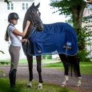 Exclusive Horseware på Björnöslott med sommartäcke Sweden