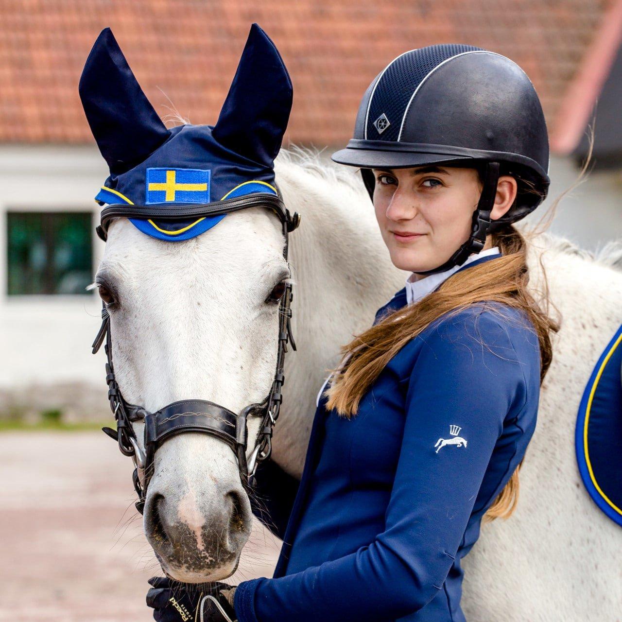 Exclusive Horseware på Björnöslott med huva Sweden