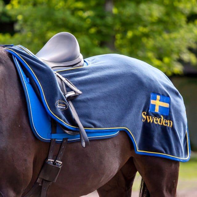 Exclusive Horseware på Björnöslott med ridtäcke Sweden