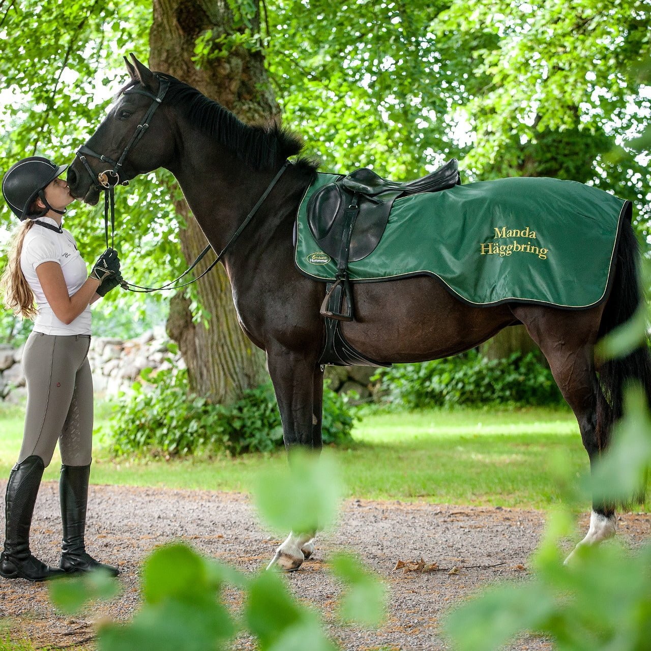 Exclusive Horseware ridtäcke Montemedio grönt